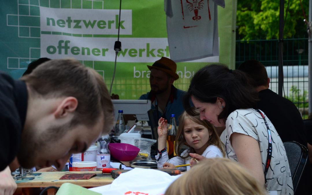 Es wächst: das Netzwerk Offener Werkstätten Brandenburg