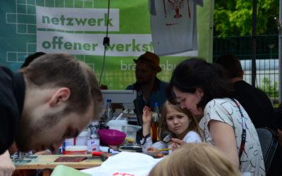 Es wächst: das Netzwerk Offener Werkstätten Brandenburger
